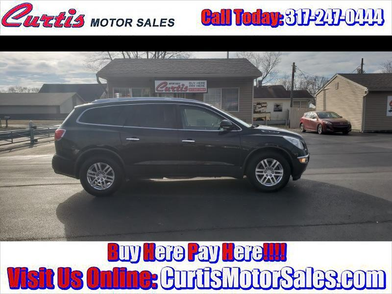 buy here pay here 2008 buick enclave cx fwd for sale in indianapolis in 46241 curtis motor sales. Black Bedroom Furniture Sets. Home Design Ideas