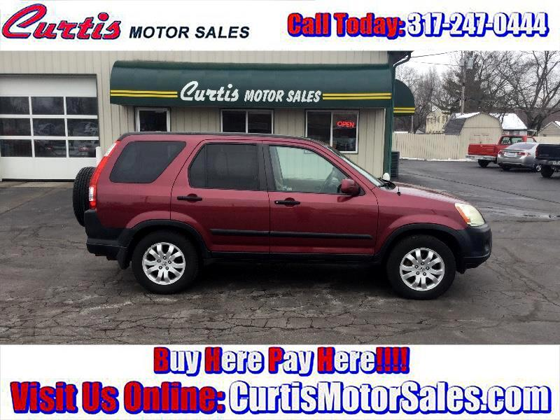 buy here pay here 2005 honda cr v ex 4wd at for sale in indianapolis in 46241 curtis motor sales. Black Bedroom Furniture Sets. Home Design Ideas