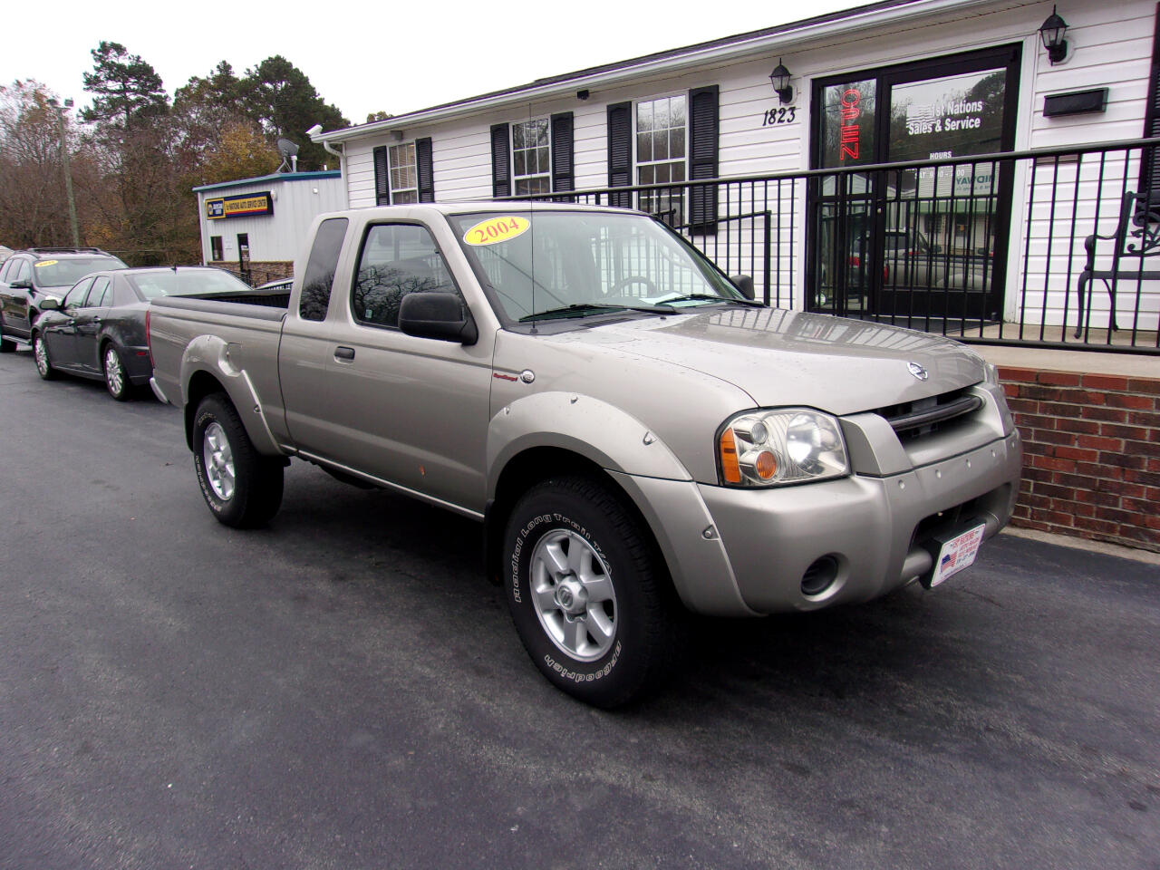 2004 Nissan Frontier 4WD SC King Cab V6 Auto SuperCharger