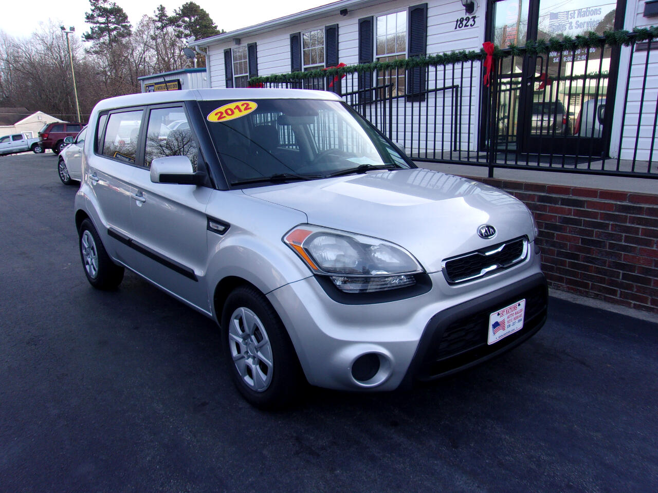 2012 Kia Soul 5dr Wgn Man Base