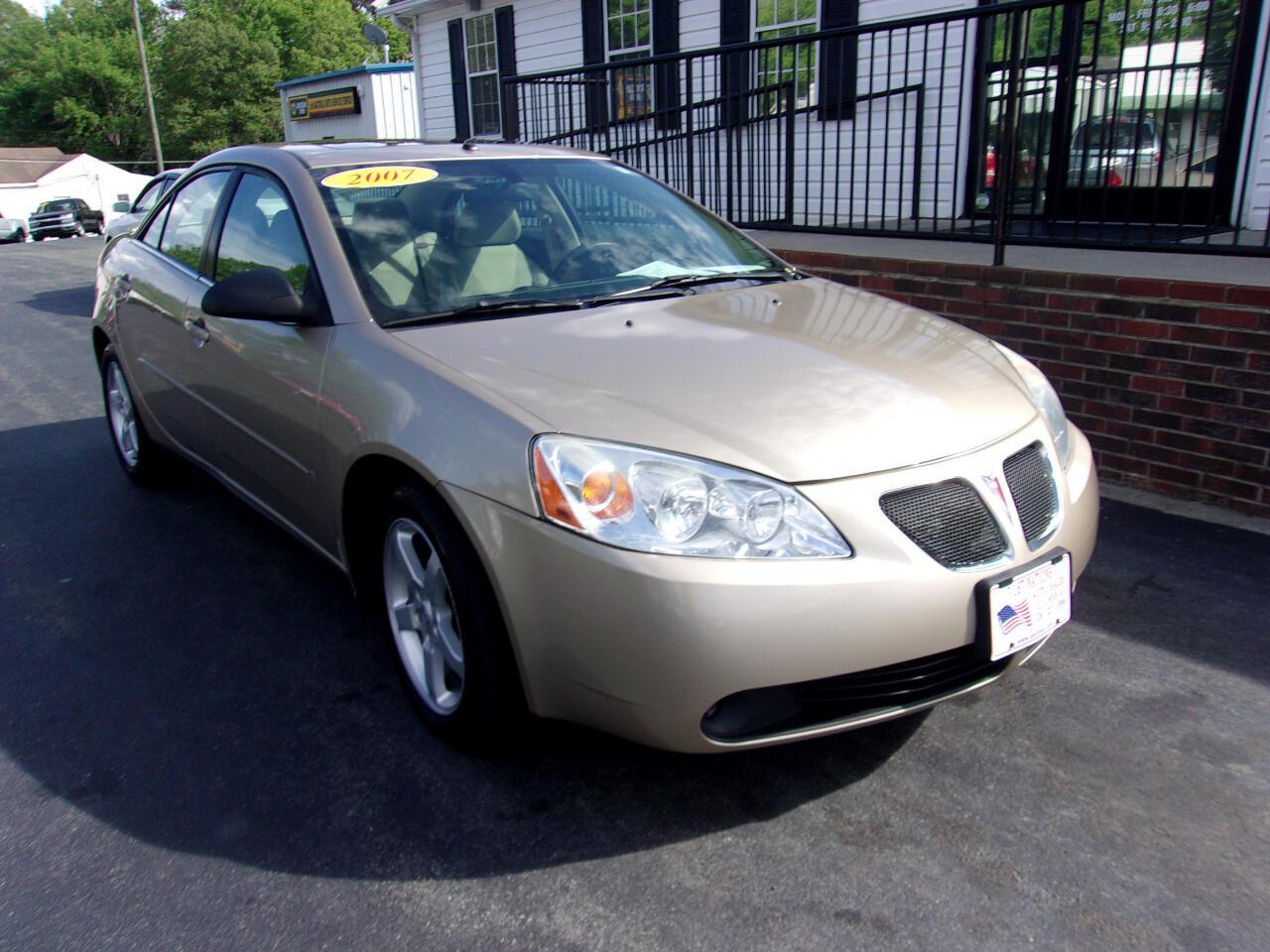 Pontiac G6 4dr Sdn G6 2007