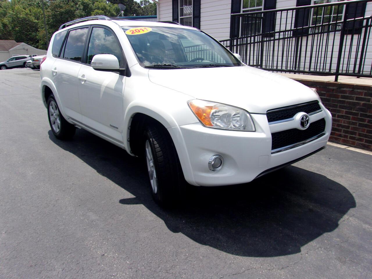 Toyota RAV4 FWD 4dr Limited (Natl) 2011