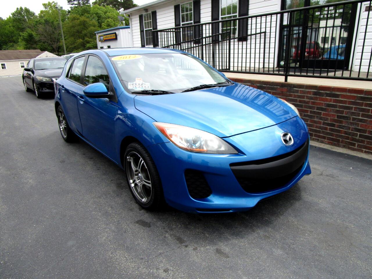 Mazda MAZDA3 5dr HB Auto i Touring 2012