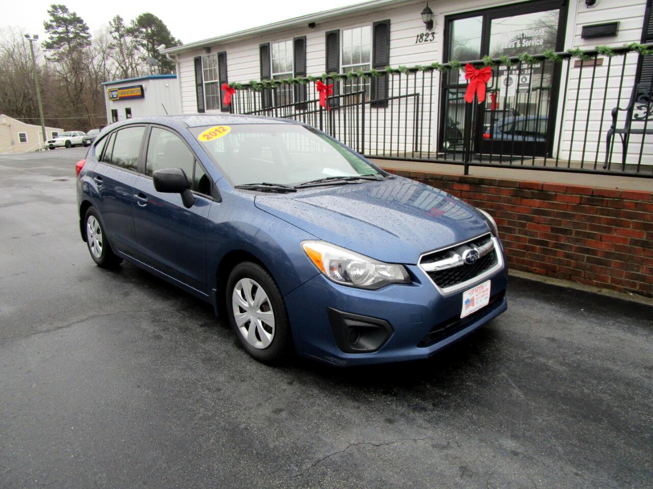 Subaru Impreza Wagon 5dr Auto 2.0i 2012