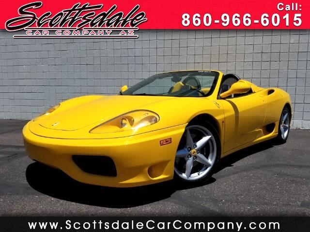 2001 Ferrari 360 Modena Spider