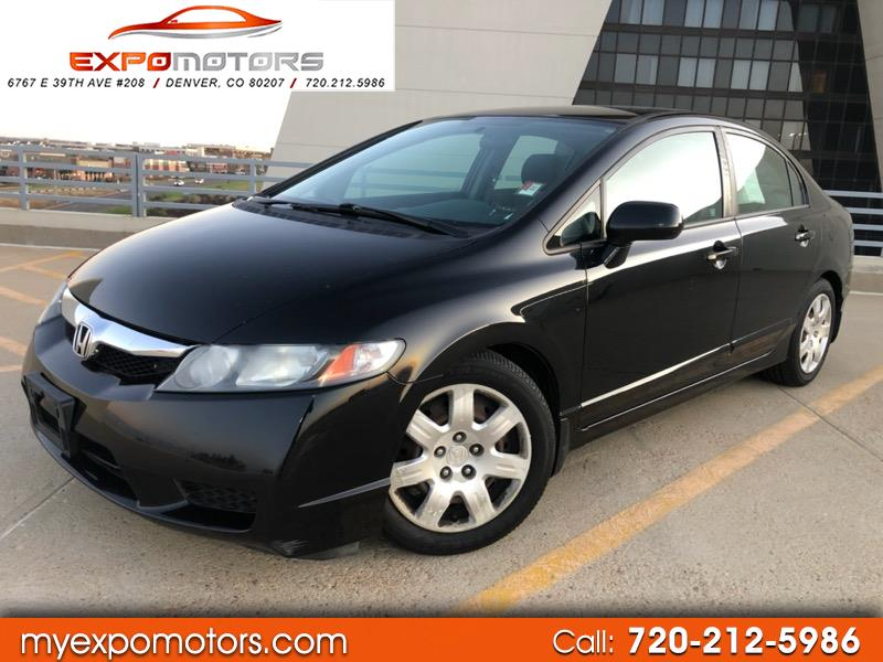 2011 Honda Civic Sedan >> Used 2011 Honda Civic Lx Sedan 5 Speed At For Sale In Denver