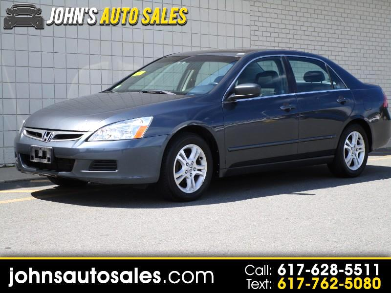 2007 Honda Accord EX-L Sedan with Navigation