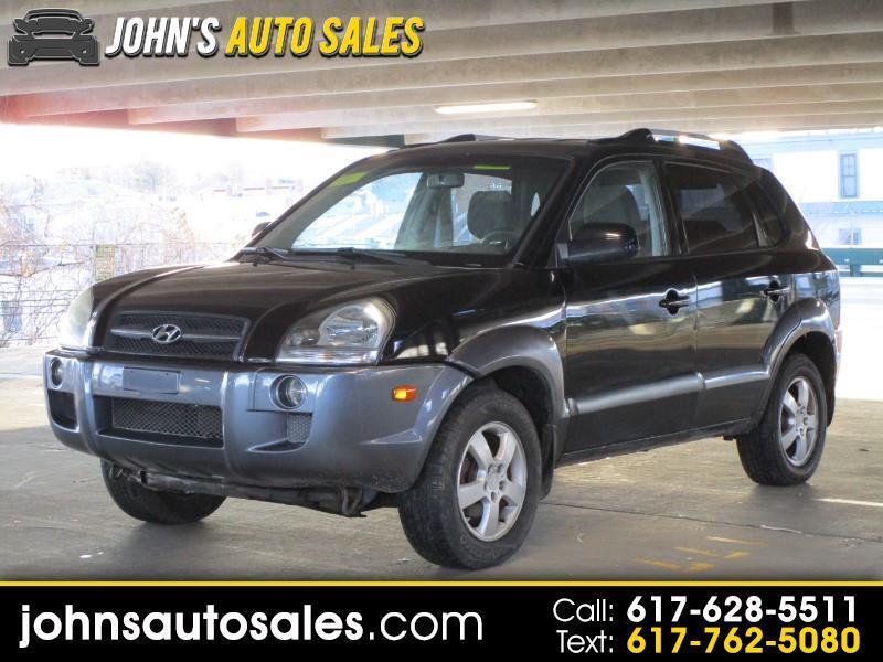 Hyundai Tucson 4dr Limited 4WD 2.7L V6 Auto 2006