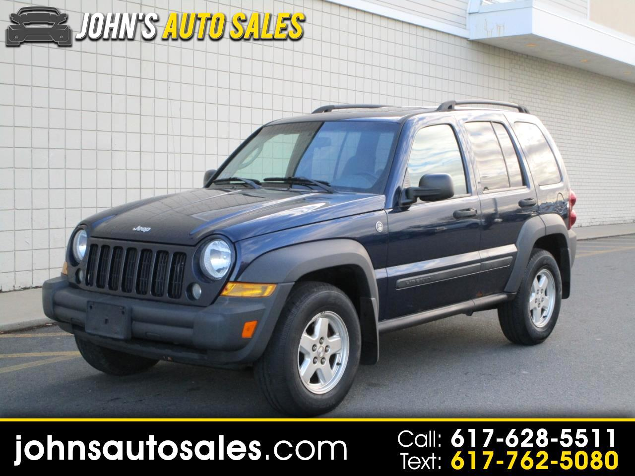 Jeep Liberty 4WD 4dr Sport 2007