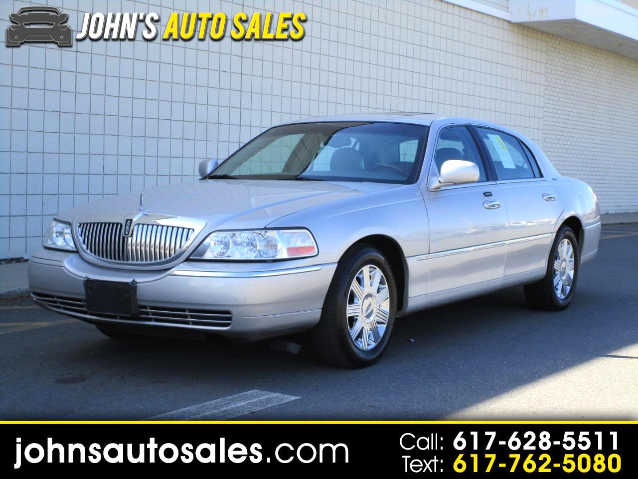 Lincoln Town Car 4dr Sdn Ultimate 2004
