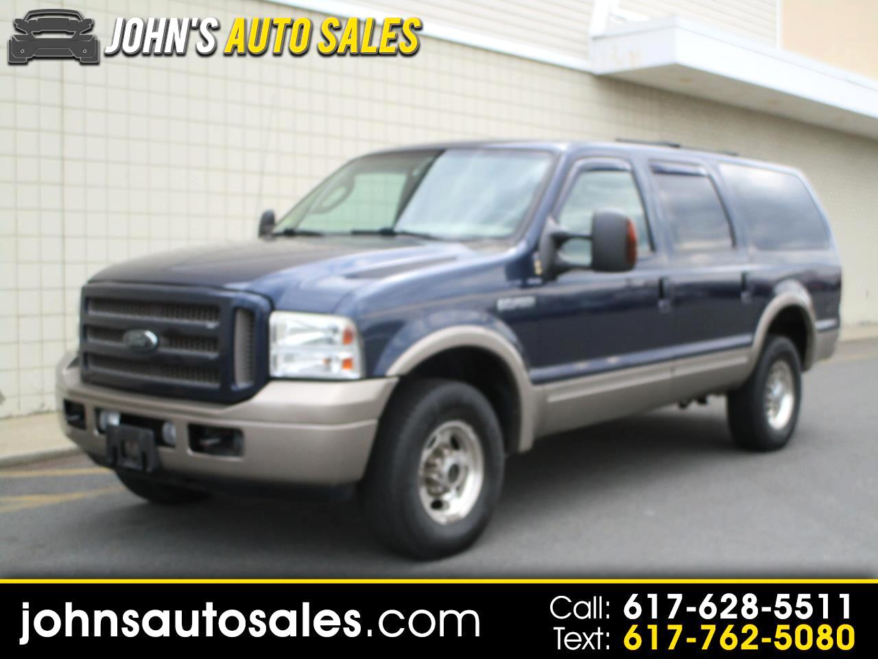 "Ford Excursion 137"" WB 6.0L Eddie Bauer 4WD 2005"