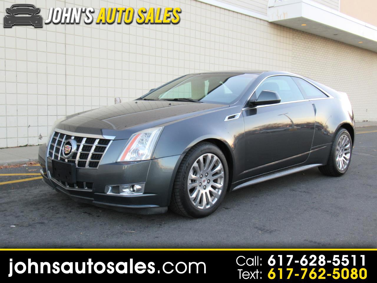 Cadillac CTS Coupe 2dr Cpe Premium AWD 2012