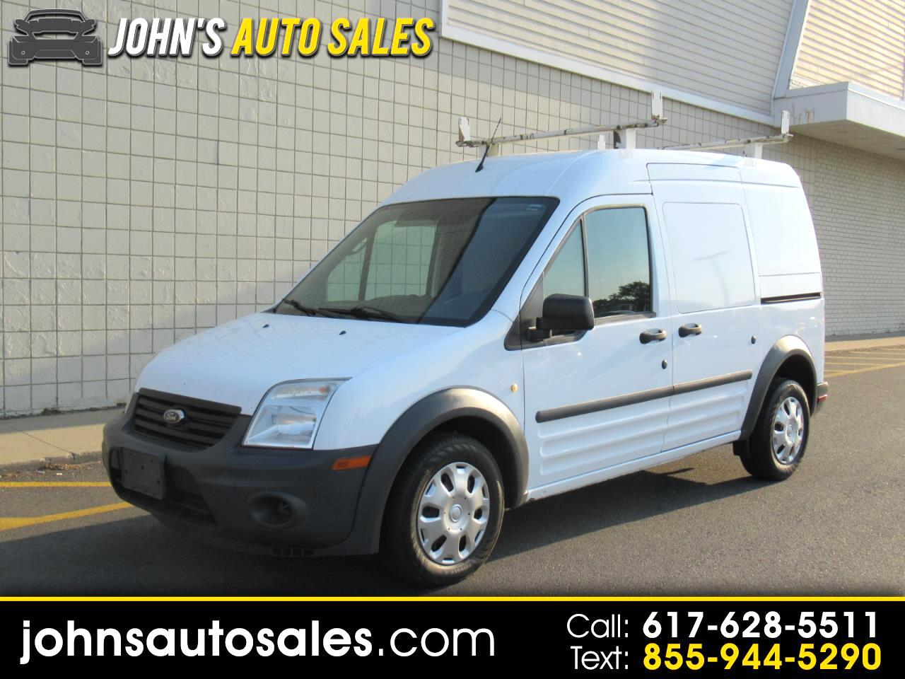 """Ford Transit Connect 114.6"""" XL w/rear door privacy glass 2012"""