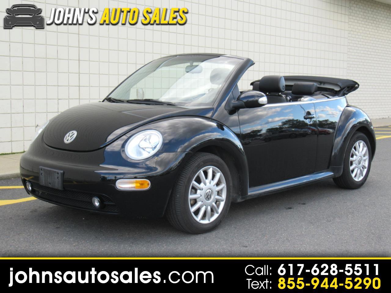 Volkswagen New Beetle Convertible 2dr Convertible GLS Manual 2004