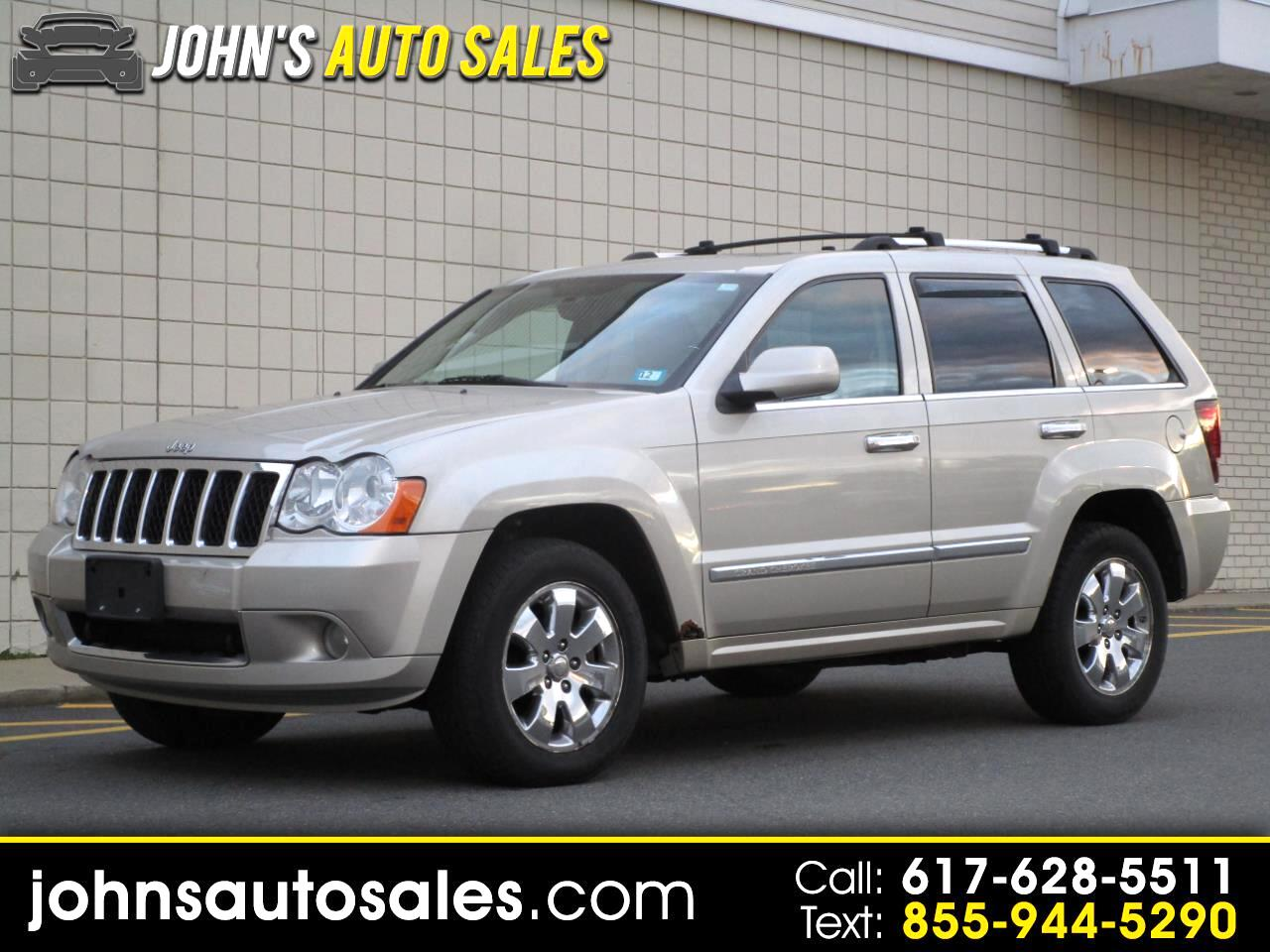Jeep Grand Cherokee 4WD 4dr Overland 2008