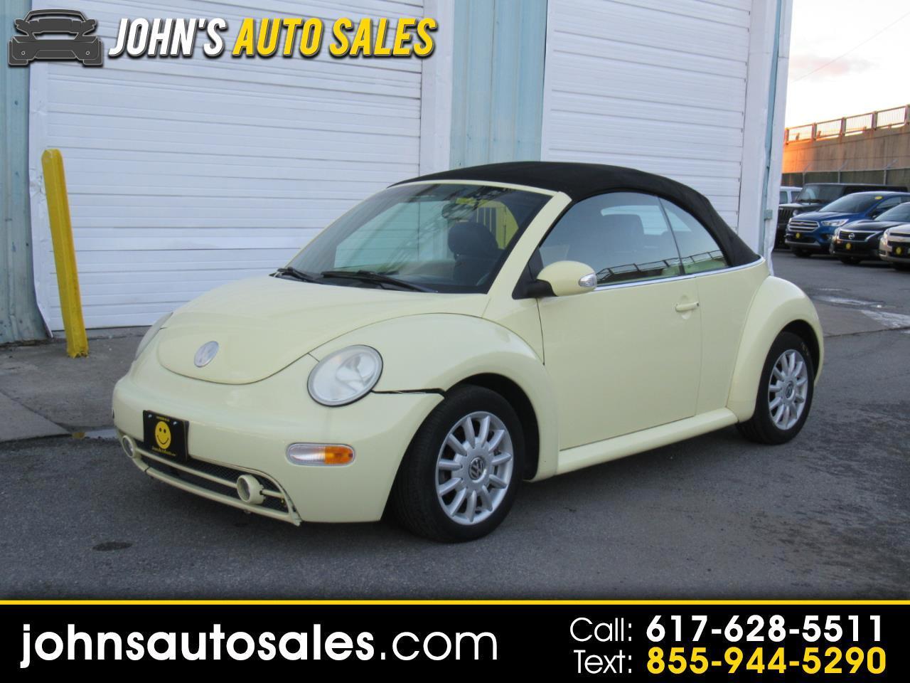 Volkswagen New Beetle Convertible 2dr Dark Flint *Ltd Avail* 2005