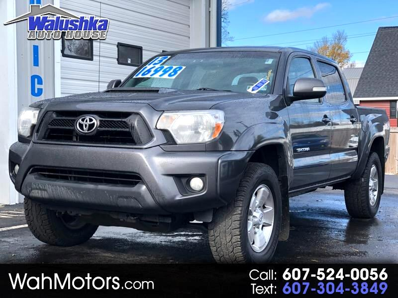 2013 Toyota Tacoma TRD Sport Double Cab 5' Bed V6 4x4 MT (Natl)