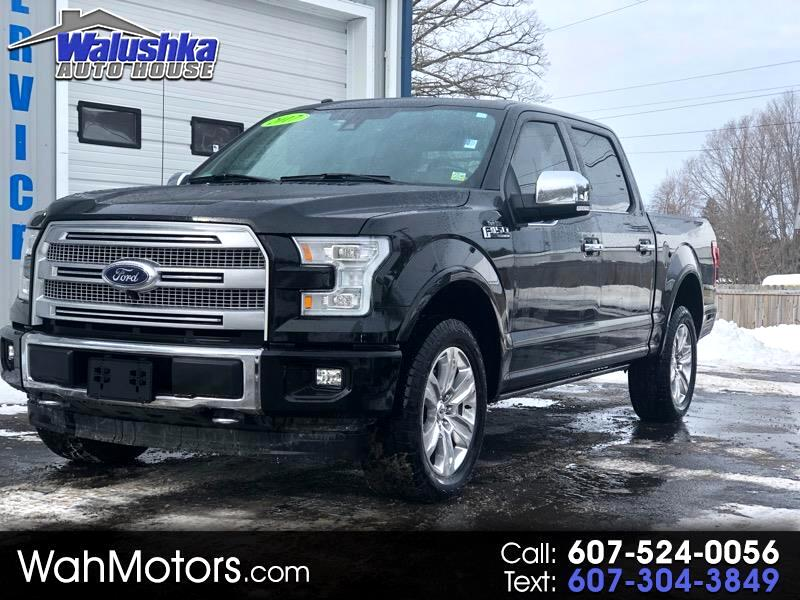 2017 Ford F-150 Platinum SuperCrew 6.5-ft. Bed 4WD