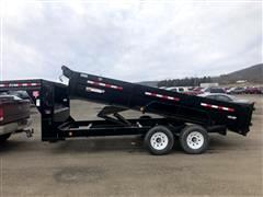 2015 PJ DL 83 inch Low Pro Dump