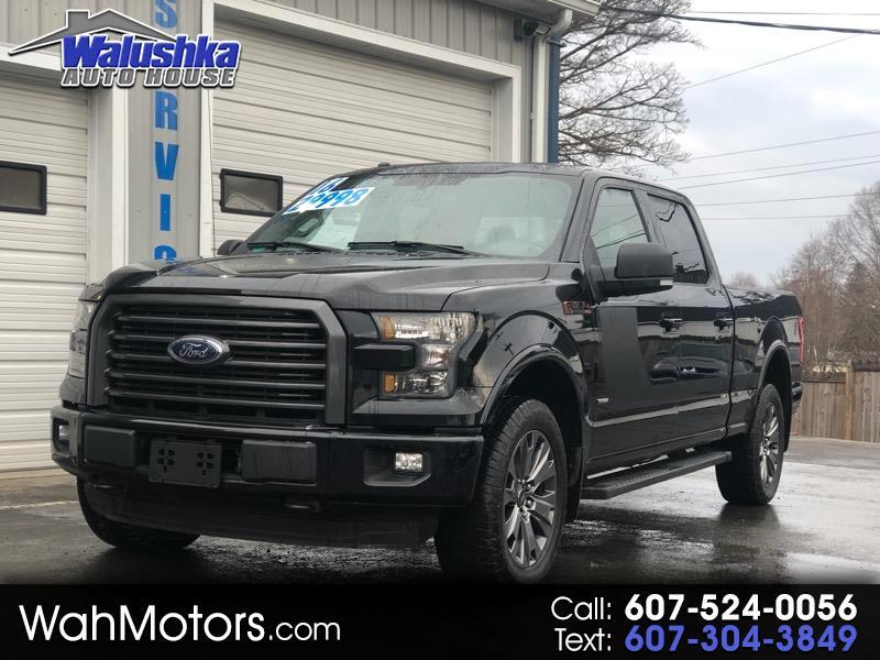 2016 Ford F-150 XLT SUPERCREW 5.5 FT BED 4WD SPORT