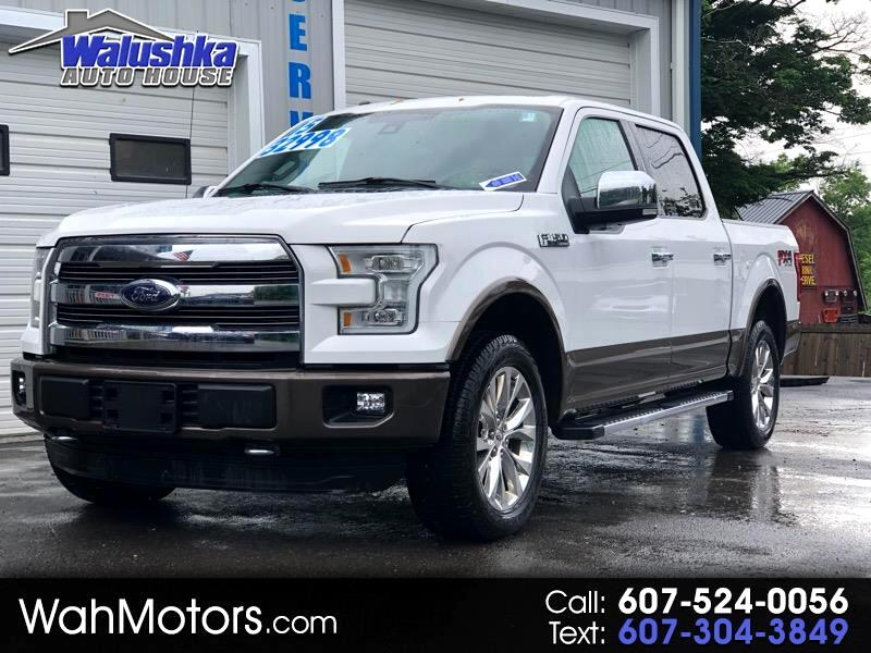 Ford F-150 Lariat 4WD SuperCrew 6.5' Box 2015