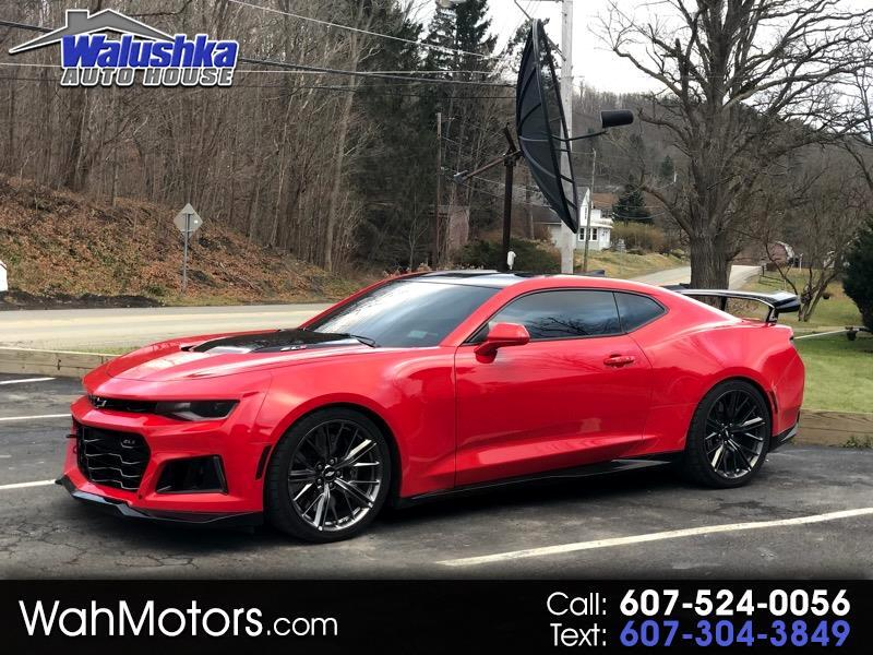 Used Camaro Zl1 For Sale >> Used 2017 Chevrolet Camaro Zl1 Coupe 6m For Sale In Corning