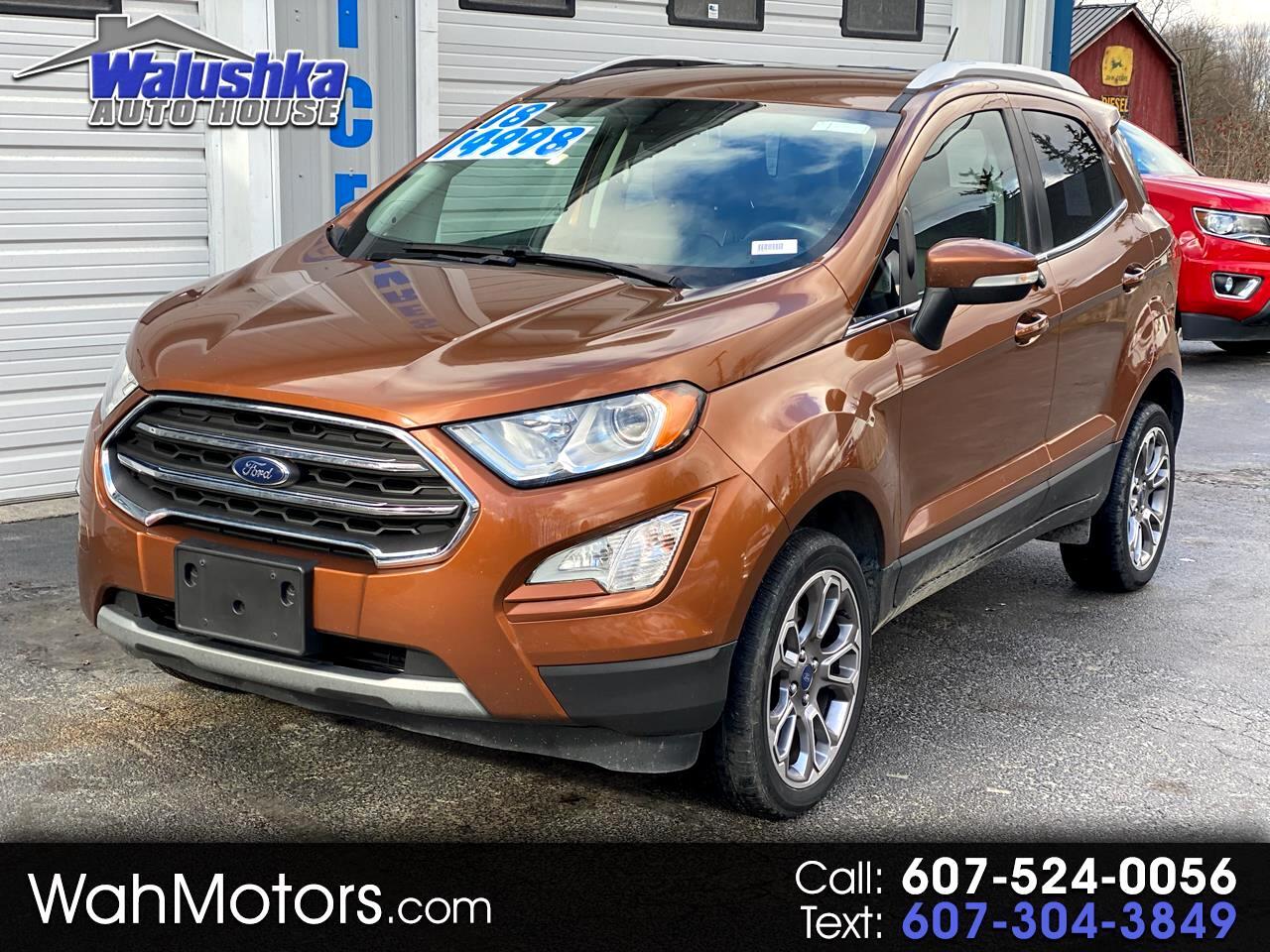 Ford EcoSport Titanium 4WD 2018