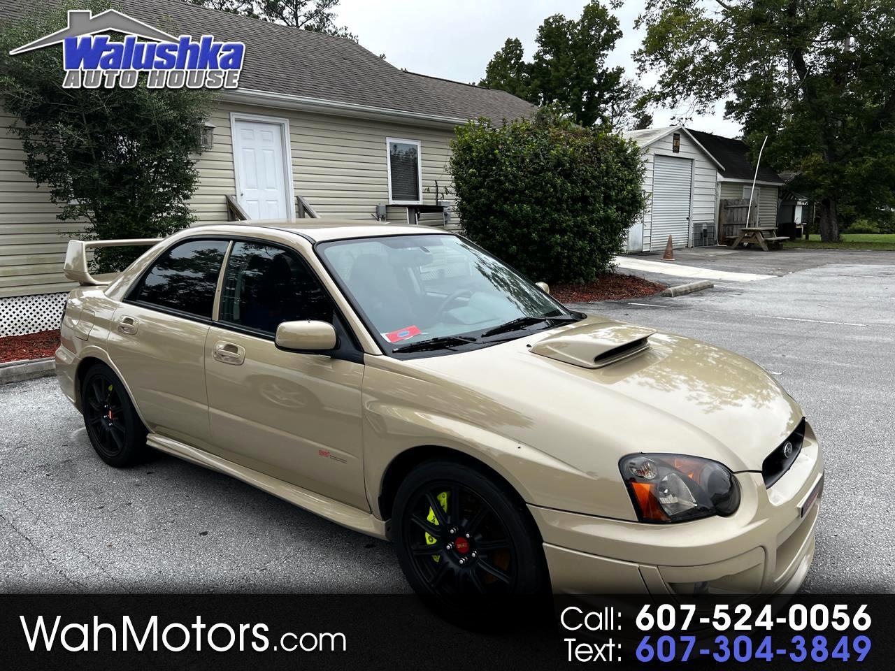 Subaru Impreza Sedan (Natl) 2.5 WRX STi w/Gold Wheels 2005