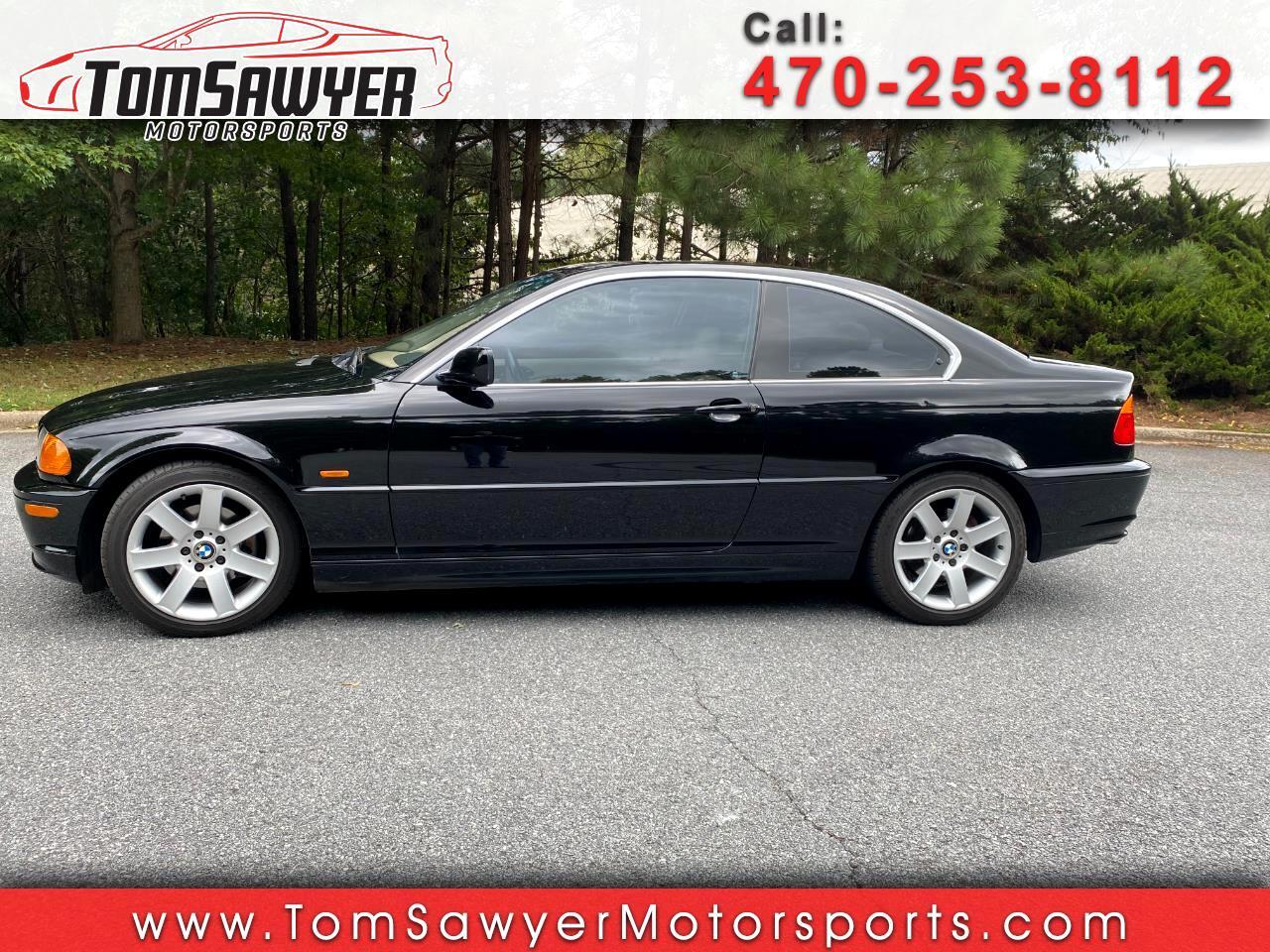 BMW 3-Series 325Ci coupe 2001