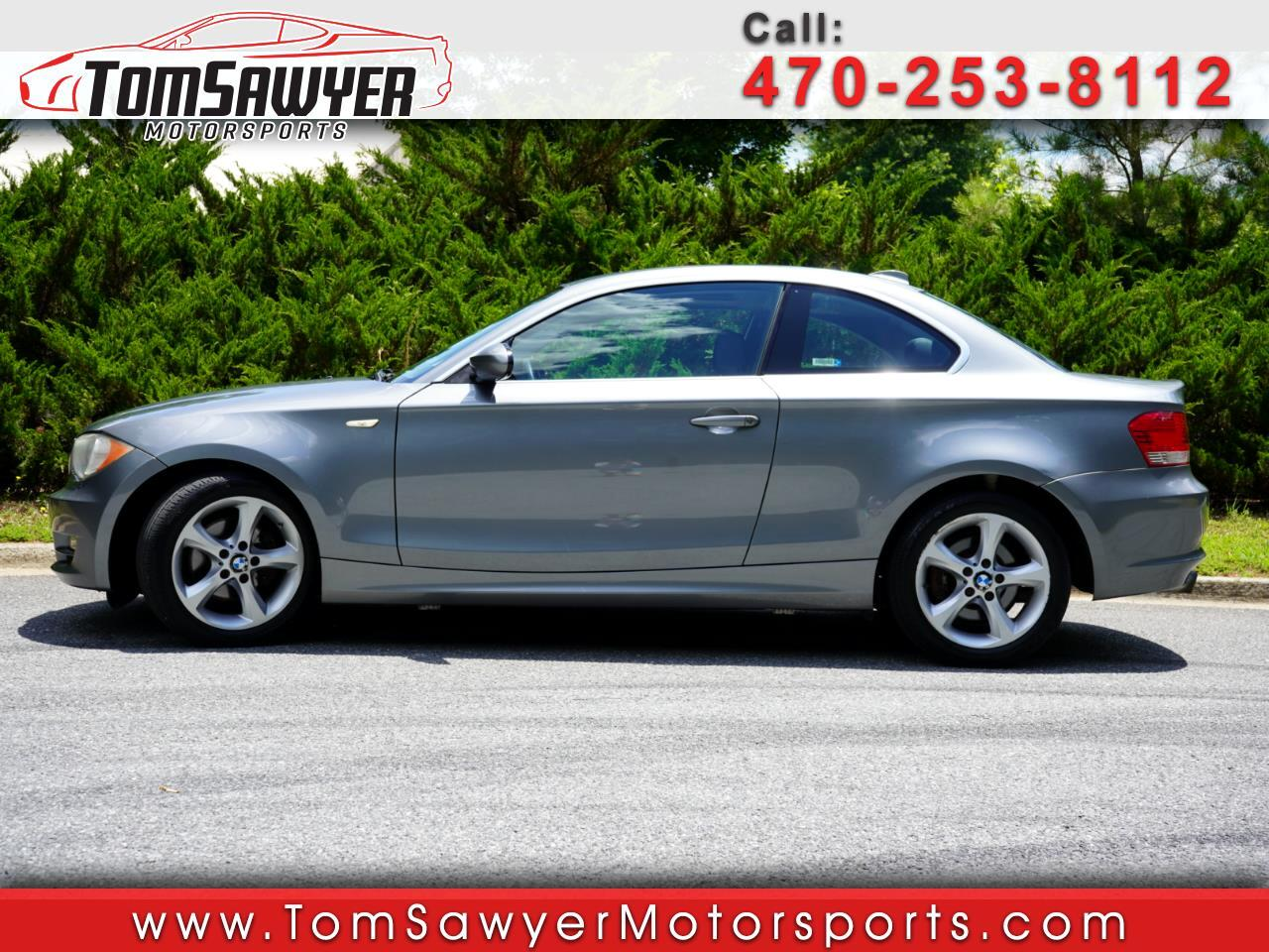 BMW 1-Series 128i Coupe 2009