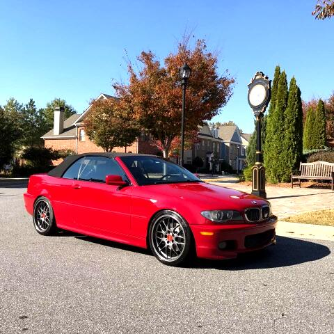 BMW 3-Series 330Ci convertible 2005