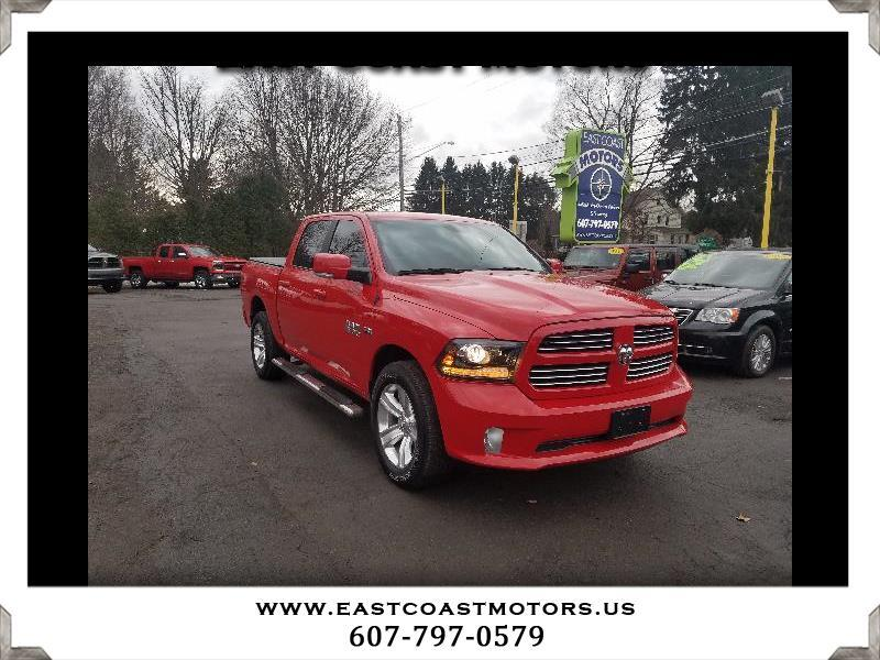 Used 2016 RAM 1500 Sport Crew Cab SWB 4WD For Sale In