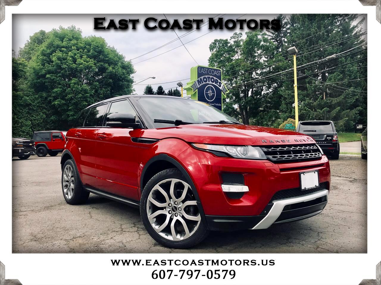 2012 Land Rover Range Rover Evoque Dynamic Premium 5-Door