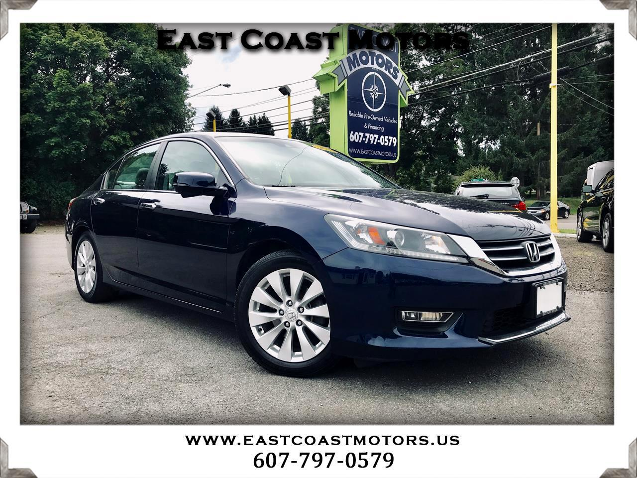 Honda Accord EX-L Sedan CVT 2013