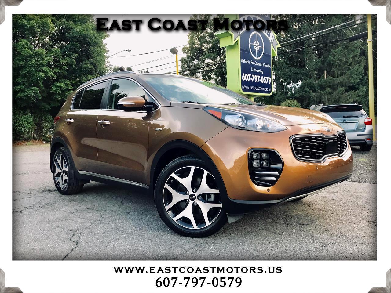 East Coast Motors >> Used 2017 Kia Sportage For Sale In Binghamton Ny 13901 East