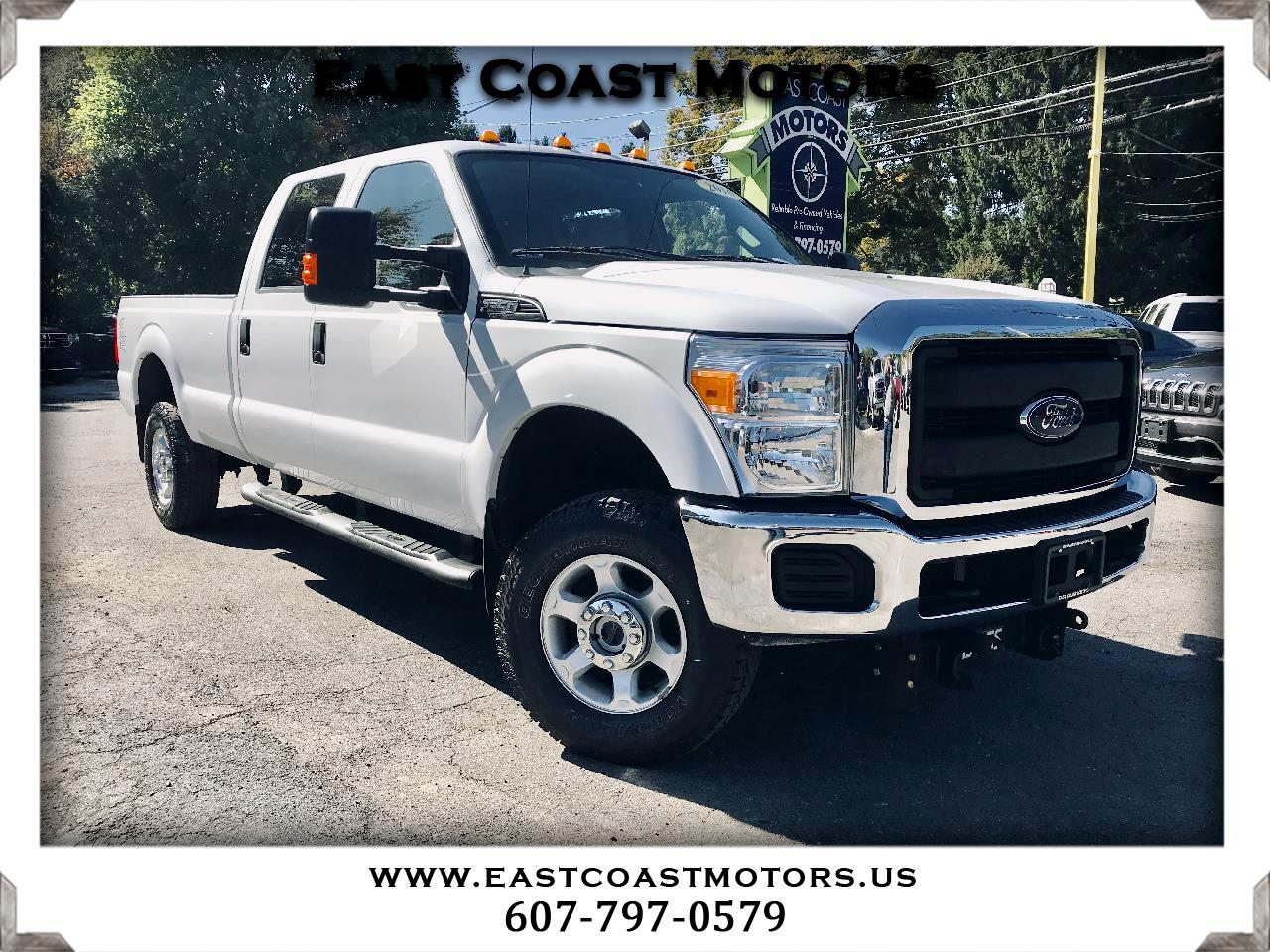2016 Ford F-350 SD XL Crew Cab 4WD