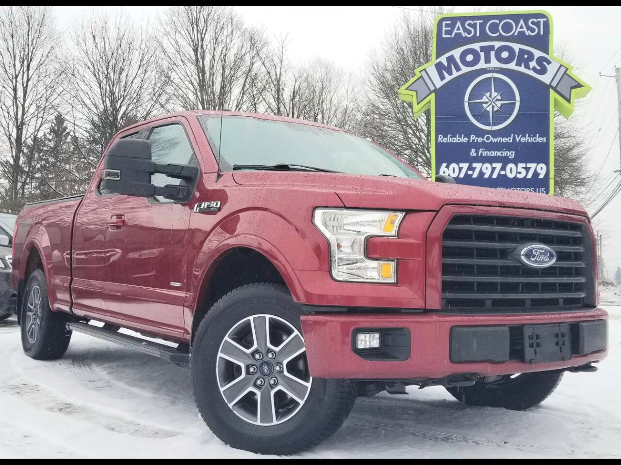2015 Ford F-150 4WD SuperCab XLT