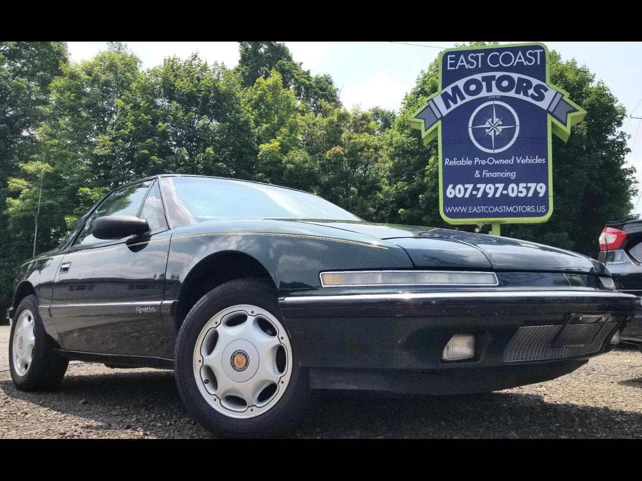 1991 Buick Reatta 2dr Coupe