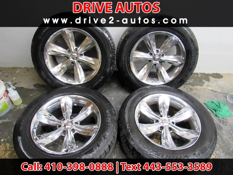 2004 Accessories Wheels *** 17'' GMC/Chevy Wheels & Tires 265-70-17's ***