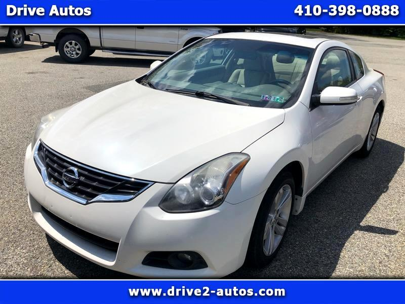Nissan Altima 2.5 S 6M/T Coupe 2012