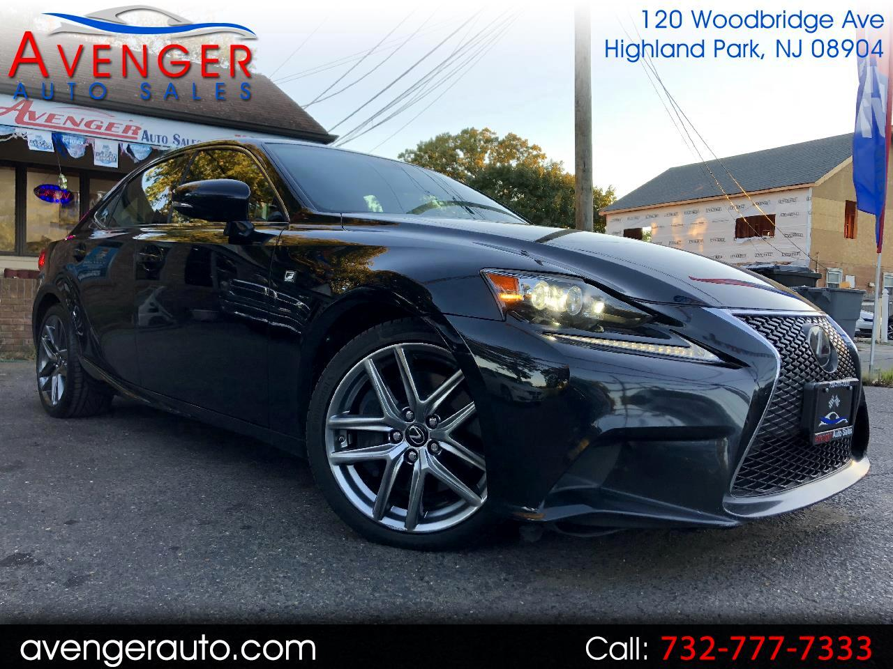 2016 Lexus IS 350 F-SPORT AWD