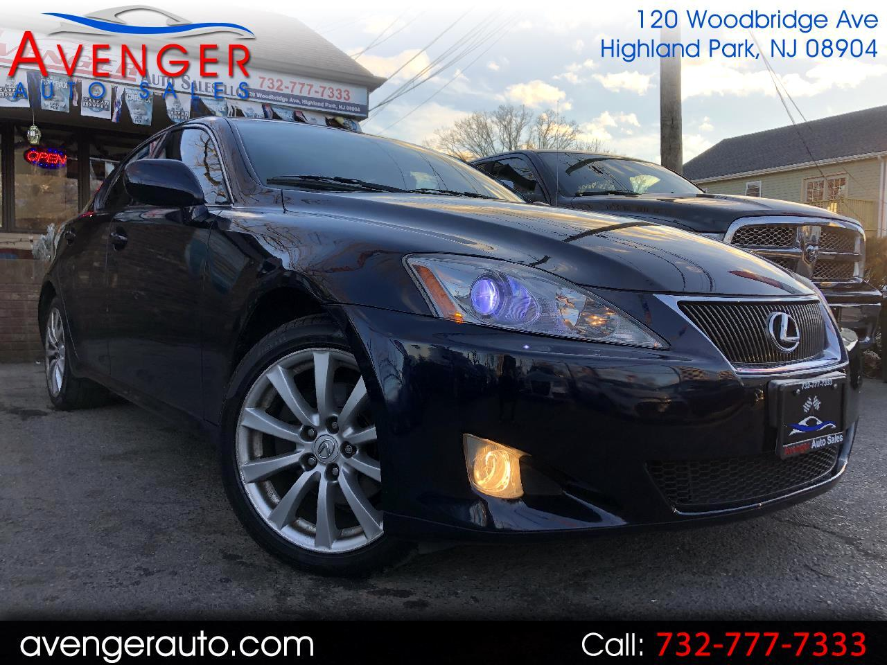 2008 Lexus IS 250 4dr Sport Sdn AWD
