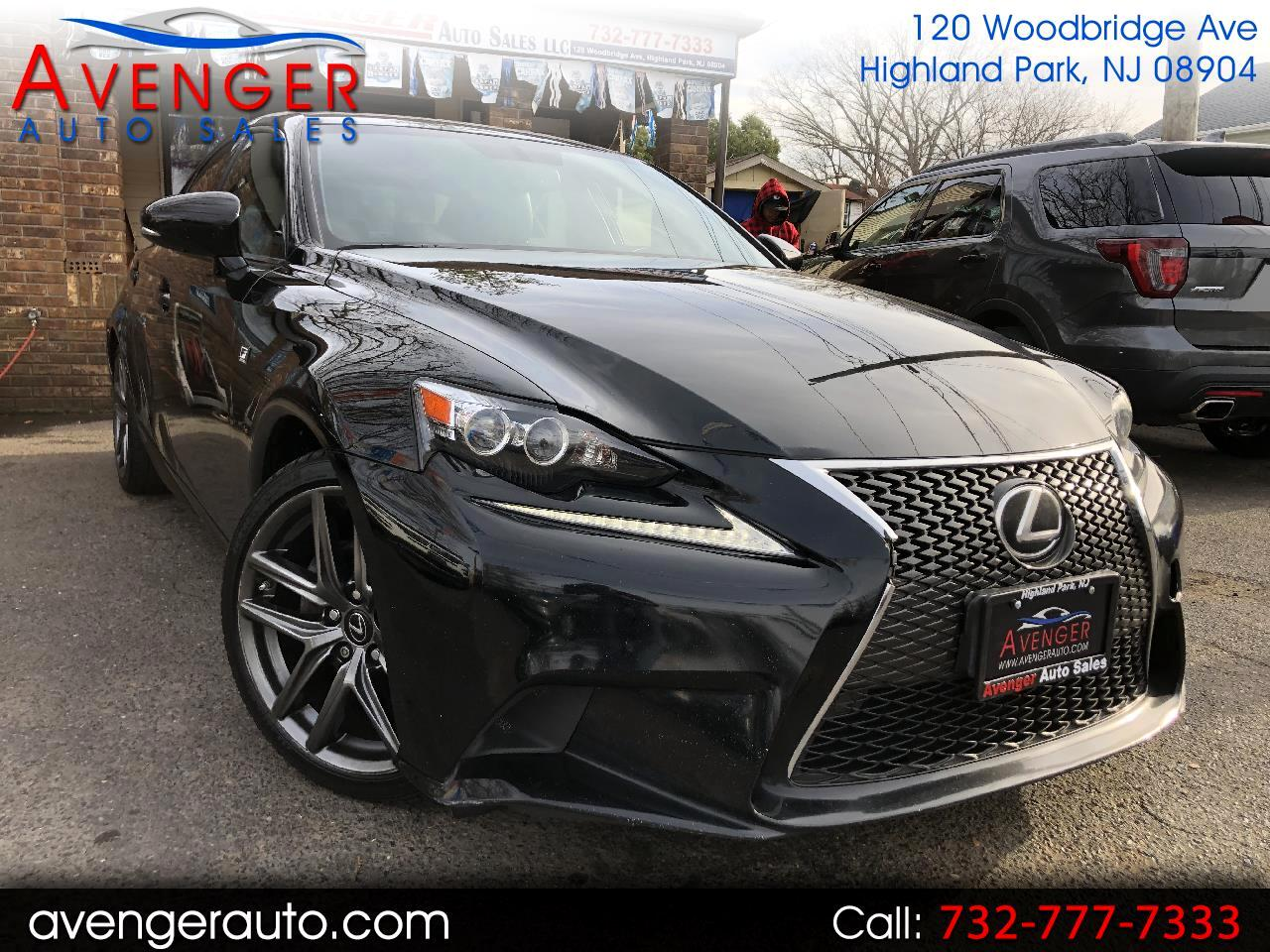 2015 Lexus IS IS250 FSPORT AWD
