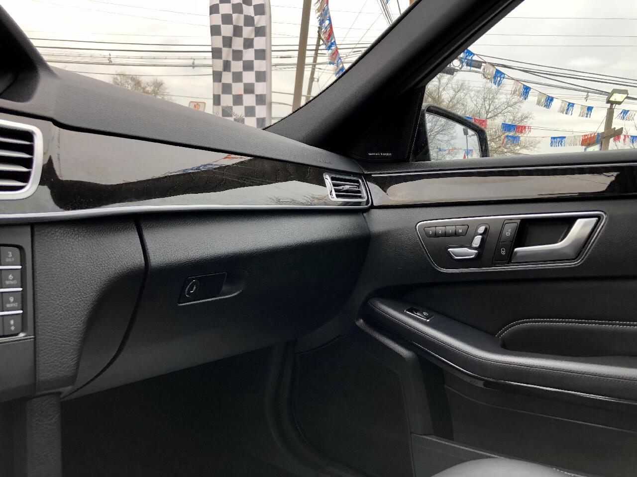 2016 Mercedes-Benz E-Class E350 Sport 4MATIC Sedan