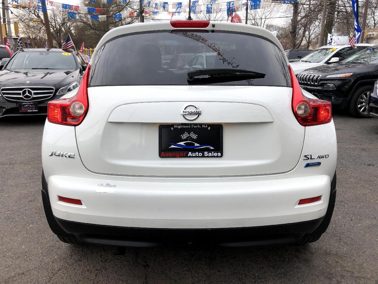 2013 Nissan Juke SL AWD