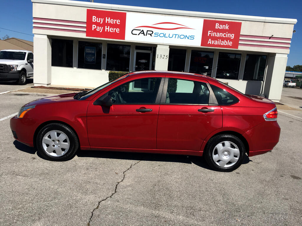 2011 Ford Focus 4dr Sdn S