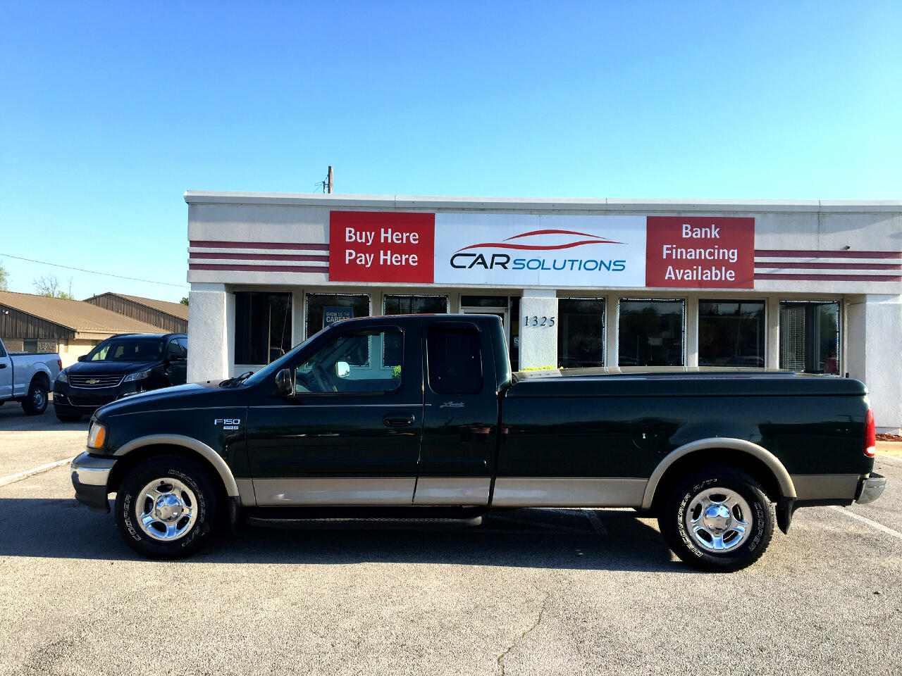 "2002 Ford F-150 Supercab 139"" King Ranch"