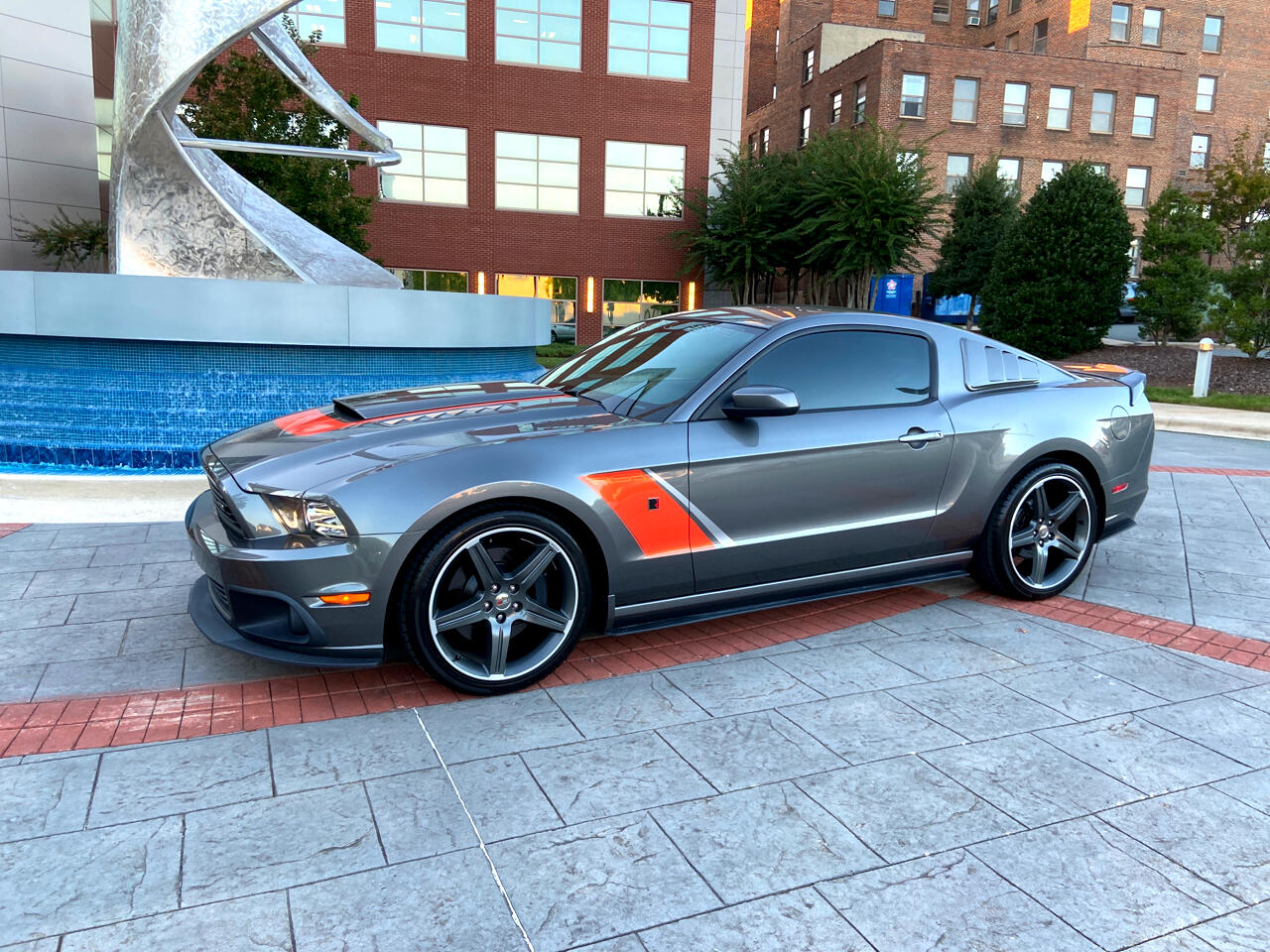 Ford Mustang Roush Coupe Supercharged 2014
