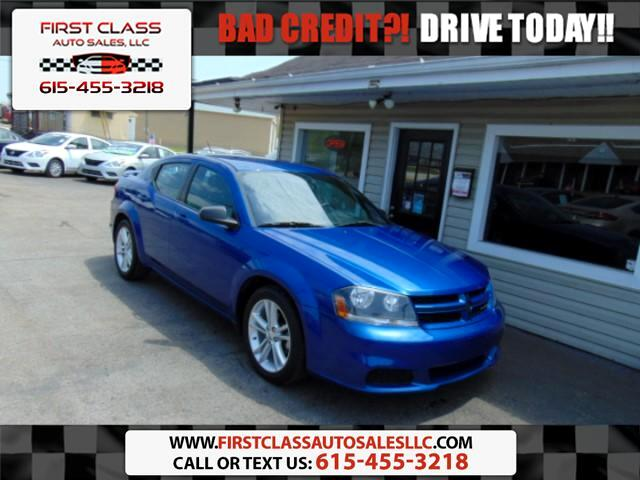 2014 Dodge Avenger SE Ralley Package