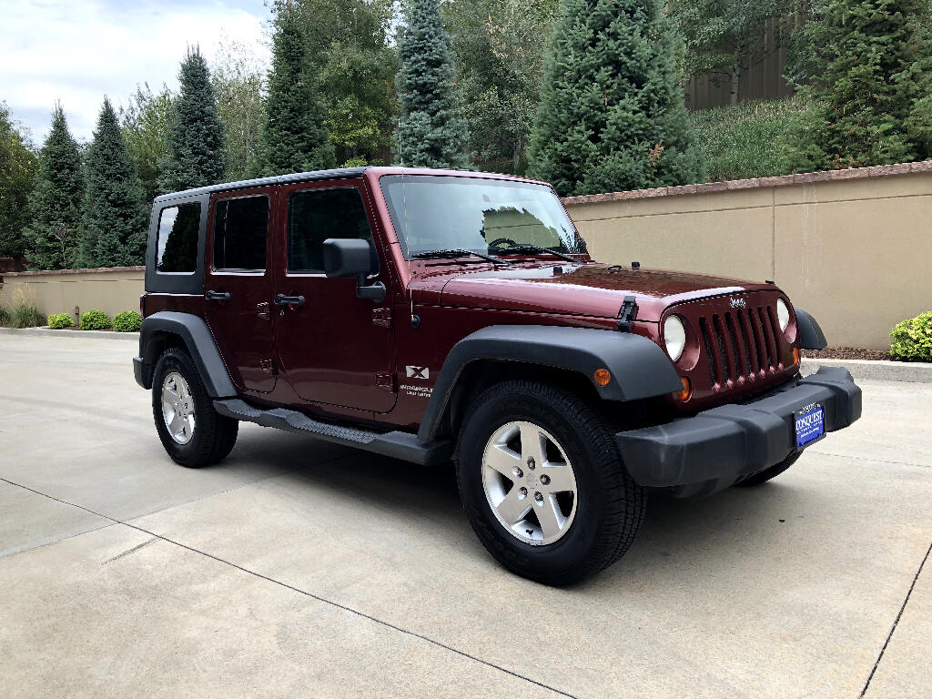 2008 Jeep Wrangler Unlimited X 2WD